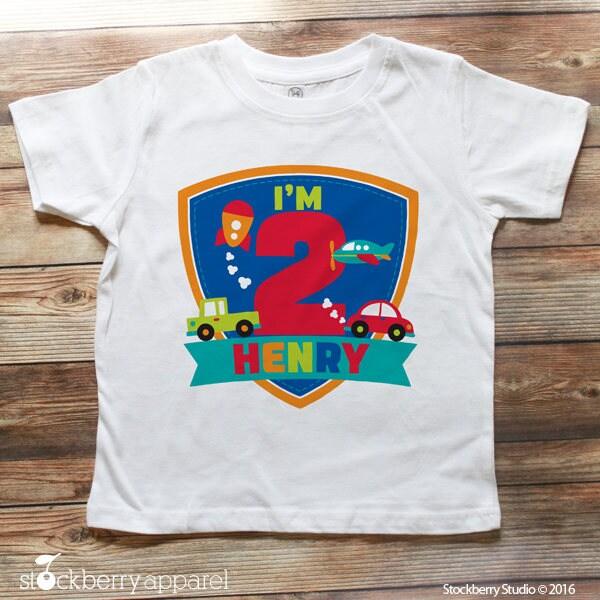 Dinosaur Birthday Shirt Dinosaur 2nd Birthday Shirt Boy 2nd Birthday Dinosaur Outfit Personalized Birthday Shirt Boy Second Birthday Outfit