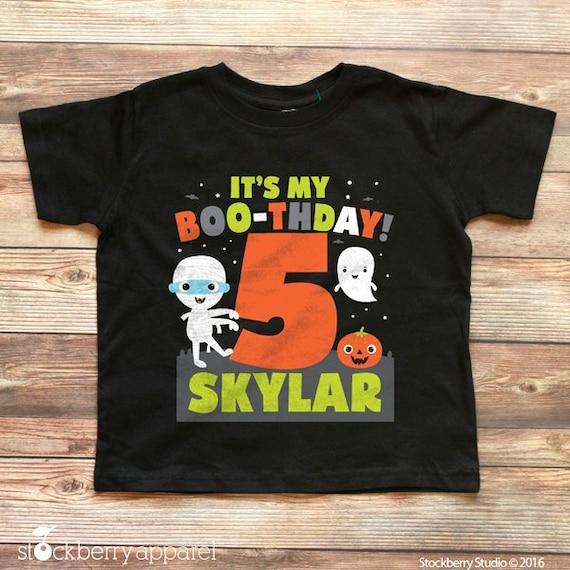 Halloween 1st Birthday Shirt