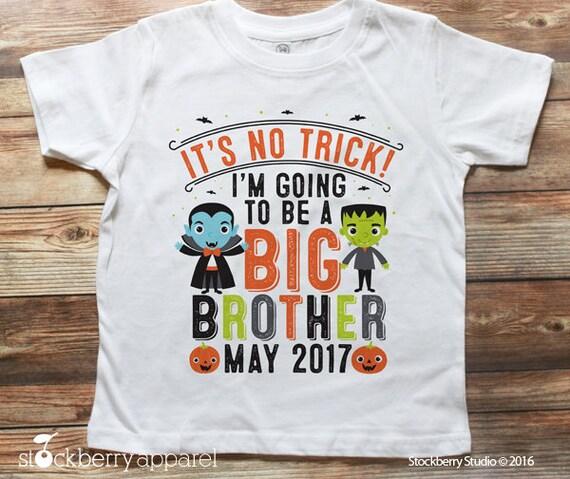 Halloween Pregnancy Announcement Shirt.Halloween Pregnancy Announcement Shirt Halloween Big