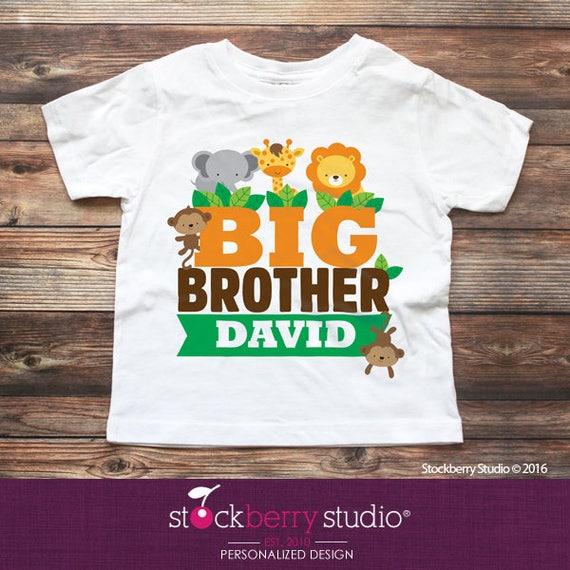 Safari Jungle Big Brother Shirt