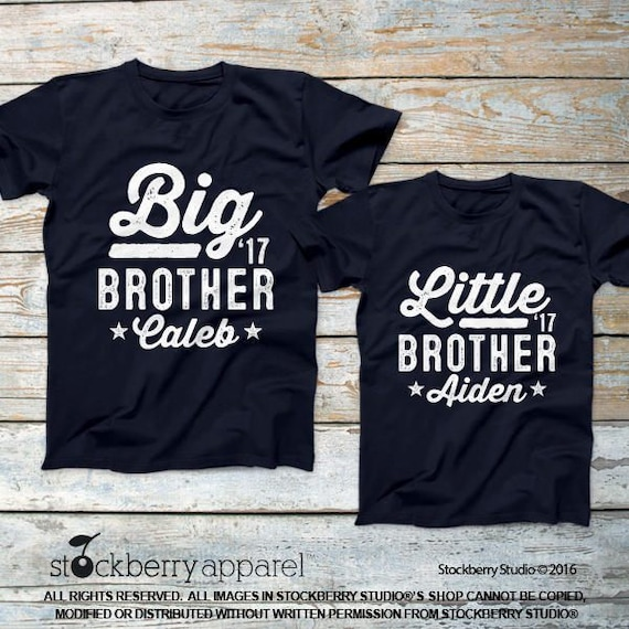 6f142087 Big Brother Little Brother Shirt Matching Brother Shirts | Etsy
