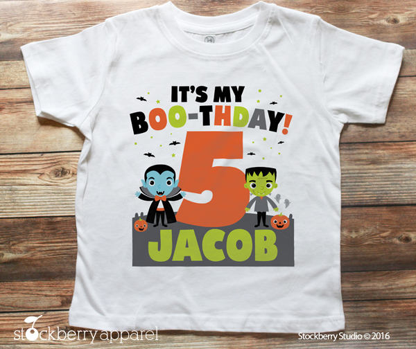 Halloween Birthday Shirt