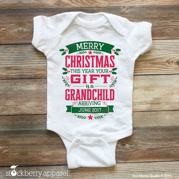 Christmas Pregnancy Announcement - Christmas Baby ...