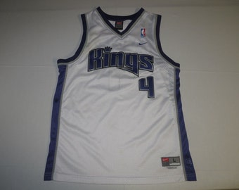 df7a4aeef NBA Basketball VTG Sacramento Kings Chris Webber  4 Sewn Jersey Youth Large  Nike (   Free Shipping in USA   Canada   )(Or Best Offer)