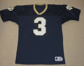 61577eac2 NCAA VTG Football Notre Dame Fighting Irish Joe Montana  3 Jersey Sz 48  Champion (   Free Shipping in Usa   Canada   )(Or Best Offer)