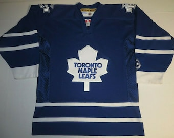 cfd107391b2 Nhl Hockey Vintage Retro Toronto Maple Leafs Sewn Away Jersey Youth L / XL  KOHO (**Free Shipping in USA & Canada**)(Or Best Offer)