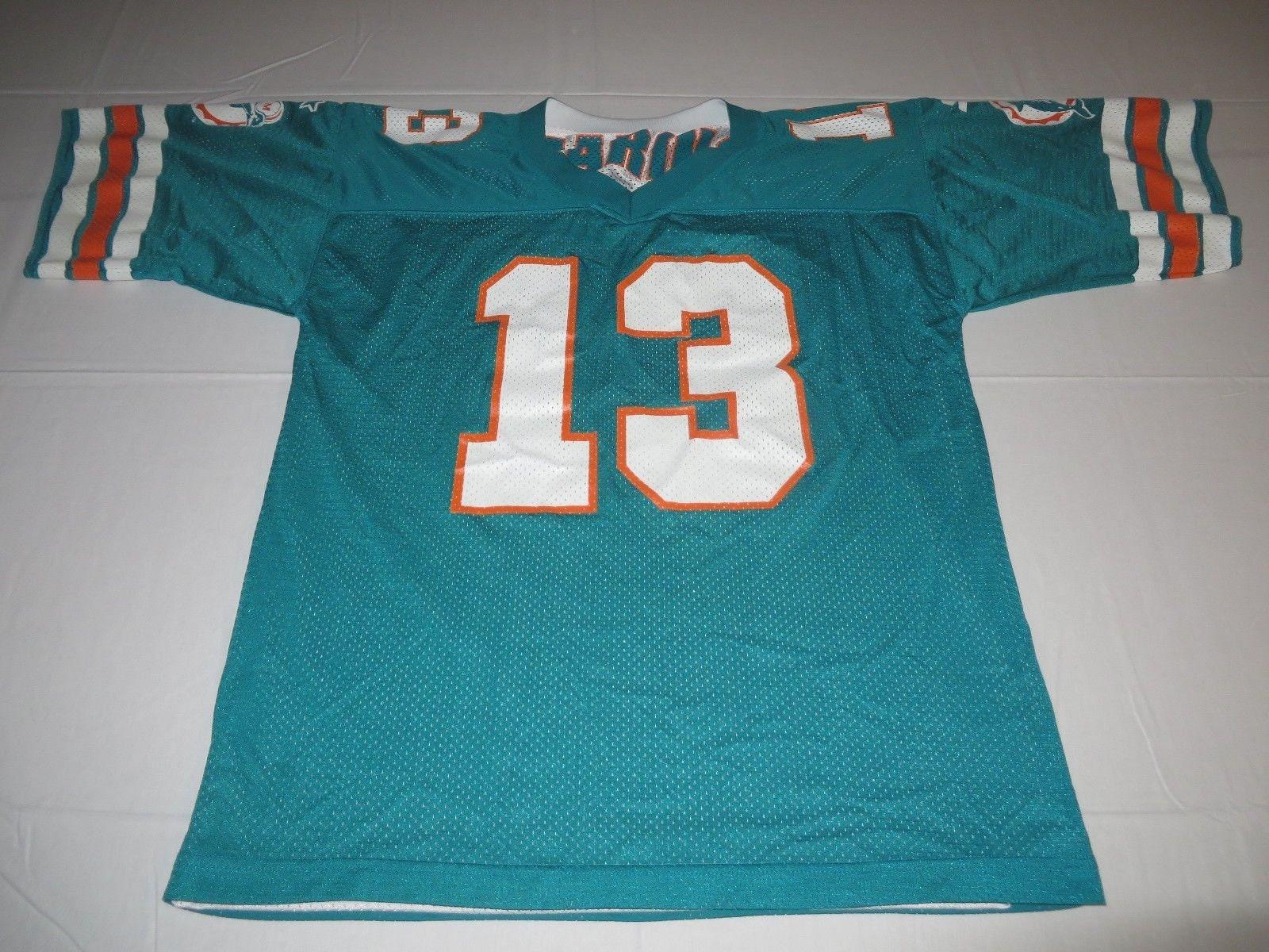 NFL Vintage Miami Dolphins Dan Marino Reversible Football  67bdd3696