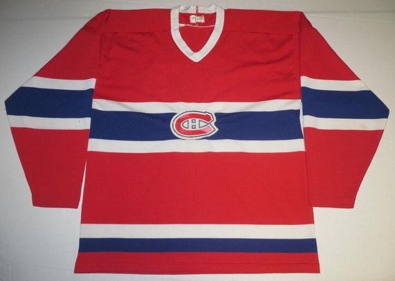 ffdf209d2 NHL Hockey Vintage Montreal Canadiens Habs 10 Jersey LG Large
