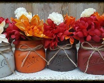3 pc Mason Jar Decor