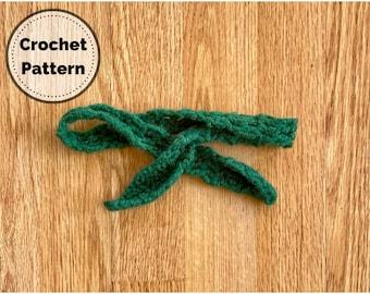 Crochet Pattern, Hair Tie, Crochet Hair Tie, Easy Crochet Pattern