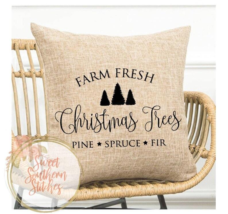 Christmas Pillows  Christmas Pillow Cover  Farmhouse image 0