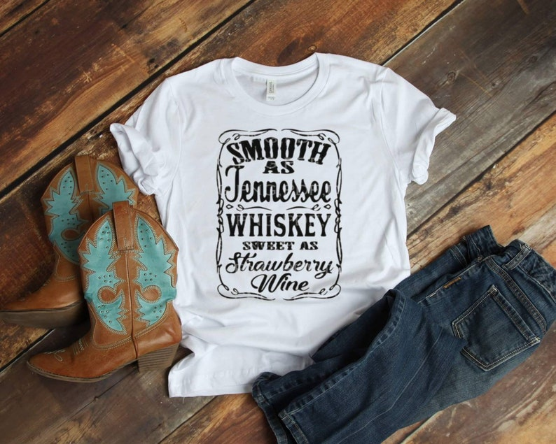 Tennessee Whiskey Shirt  Country Western Shirt  Tennessee image 0