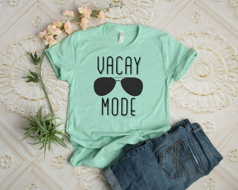 Vacay Mode T-shirt  Vacation Shirt image 0