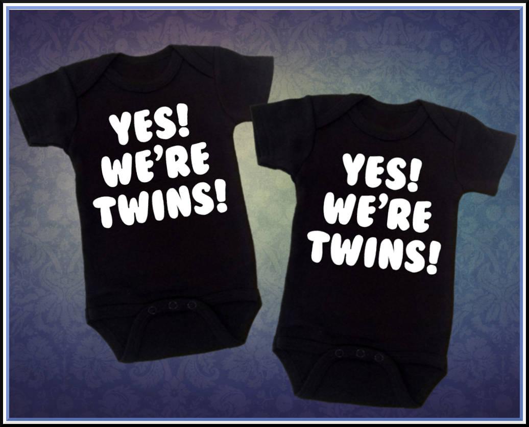 8a732b5ea36dd Funny Baby T Shirts Twins | carrerasconfuturo.com
