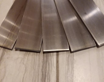 "1/4"" Annealed 1075 USA steel - 1/4""x2""x12"" 1075  high carbon steel"