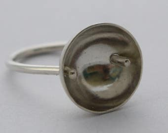 No Solder Cupped RIng