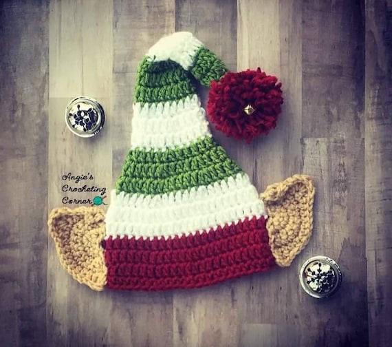 Elf Ohr Häkelhut häkeln Elf Strumpf Baby Zipfelmütze Kind | Etsy