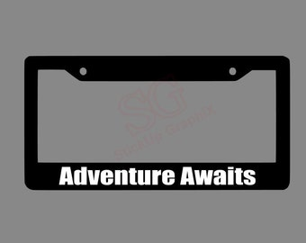 SEWING MENDS THE SOUL MOTIVATIONAL Metal License Plate Frame Tag Holder