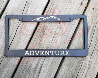 SEWING MENDS THE SOUL MOTIVATIONAL Metal License Plate Frame Tag Holder