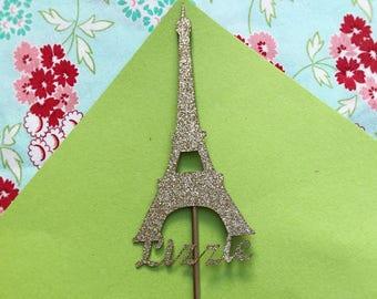Eiffel Tower Cake Topper Paris Cake Topper Paris Cake Toppers Eiffel Tower Party Paris Birthday Party Paris Party