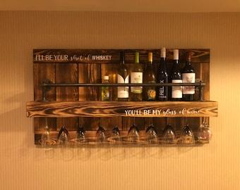 Liquor rack | Etsy