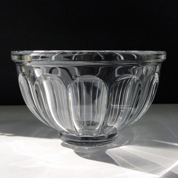 "Orrefors Swedish Crystal San Michele Bowl, 6"" Diameter, Classical Shape"