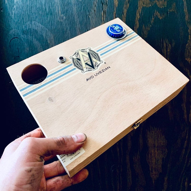 Rozegrave The Avo Abita Acoustic-Electric Hand Made Cigar Box image 0