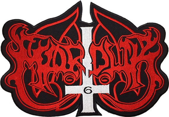 """CANDLEMASS Top Rocker Iron On Sew On Giant XL Back Patch 12/""""x3.5/"""""""