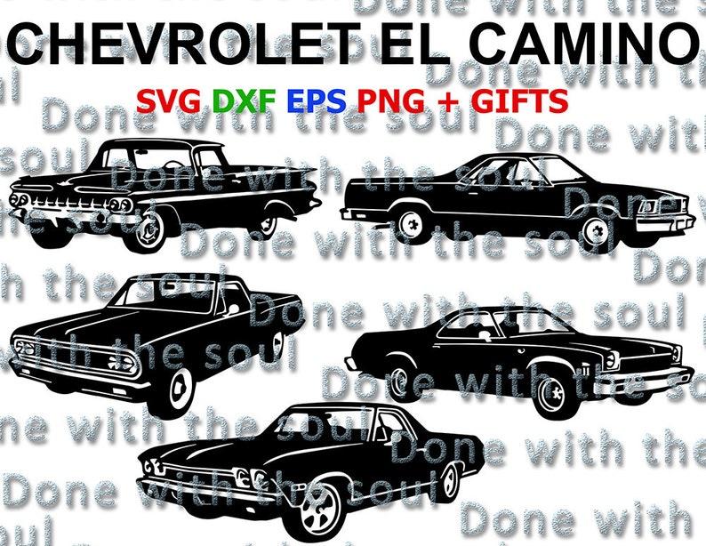 Chevrolet El Camino El Camino Classic Car Muscle Car Etsy