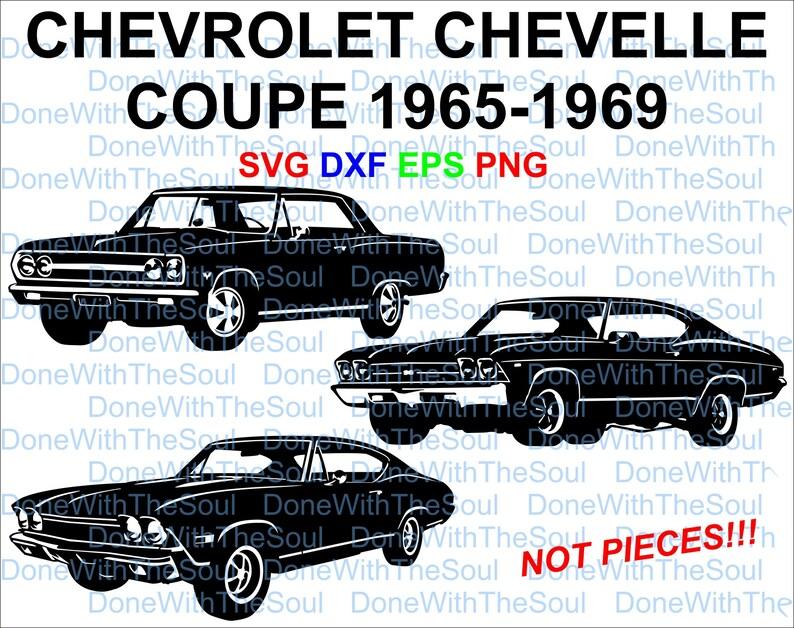 9e89ba95466 Chevrolet Chevelle 1965 1969 Chevrolet svg Chevy Coupe