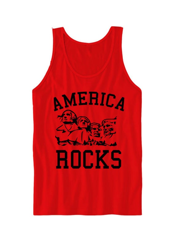 85ce313cfe516 July 4th Shirts America Rocks Tank Top America Shirts July