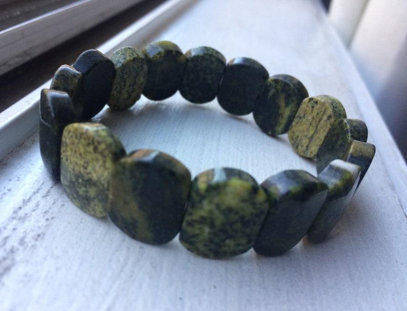 Natural Serpentine Bracelet