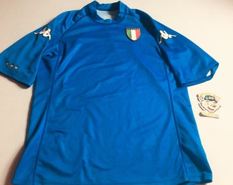 Kappa Mens Large Italy National Team Soccer Jersey 2634fc96e