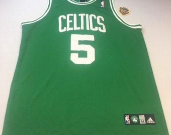 Authentic Adidas Boston Celtics Kevin Garnett Size 54 Green Basketball  Jersey 09a01a57d
