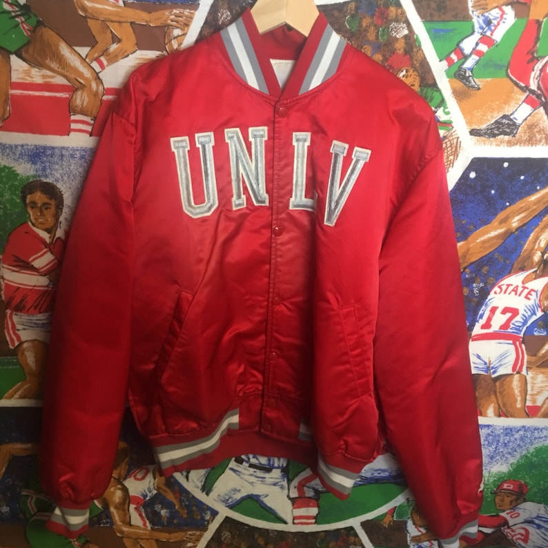 4f10e02c6c3 Extremely Rare Vintage Mens Large Red UNLV Runnin Rebels