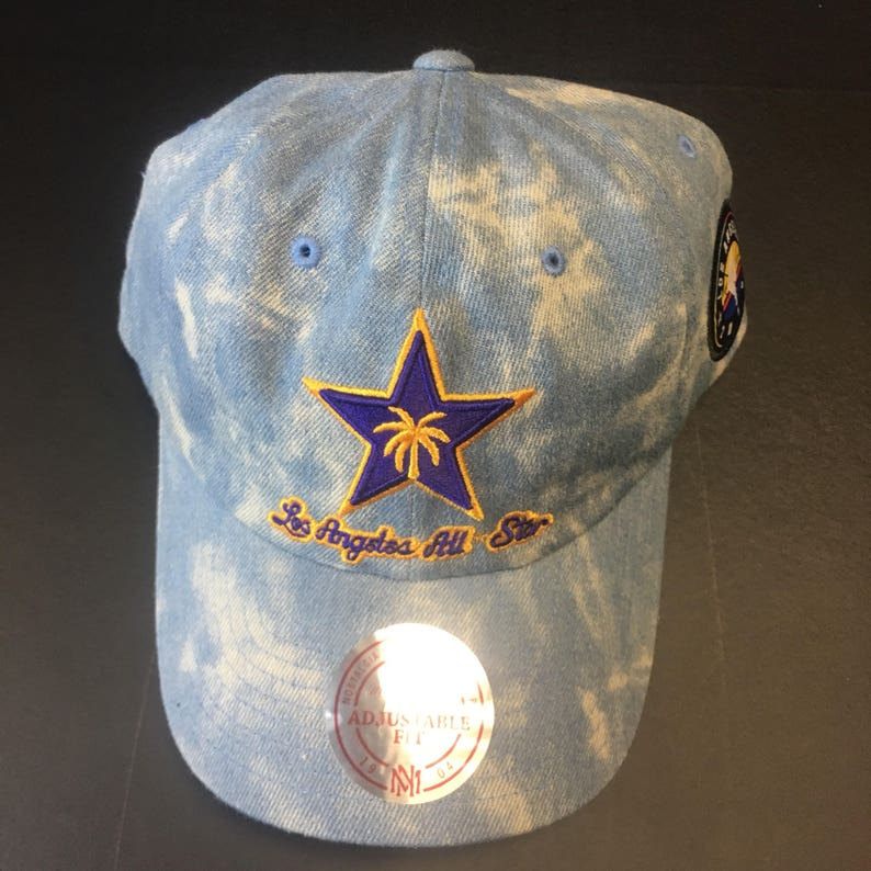 huge discount 1ebcc 59264 Mitchell and Ness Stonewashed 2018 NBA All Star Game Denim   Etsy