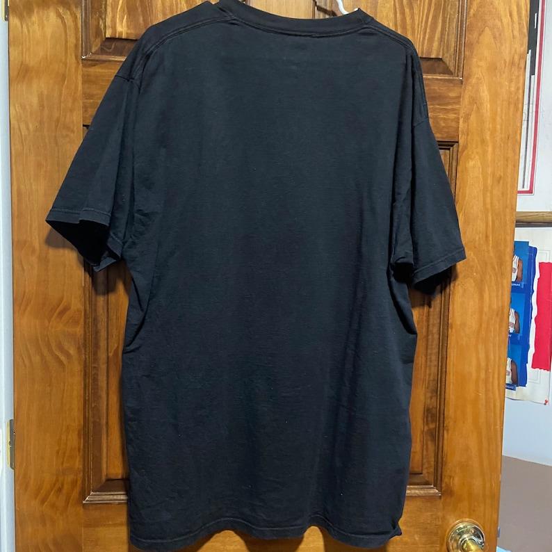 Rare Vintage Jerzees Mens XXL Black Philadelphia Phillies 1993 National League Champions Locker Room Teeshirt
