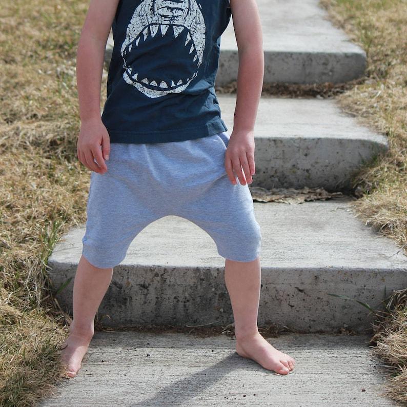 Baby Drop Crotch Shorts Toddler Baggy Shorts Hipster Baby image 0