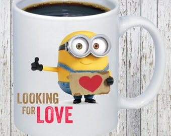 Minion-Looking for Love Coffee Mug