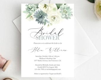 Bridal Shower Invite Etsy