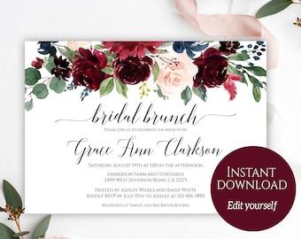bridal brunch etsy
