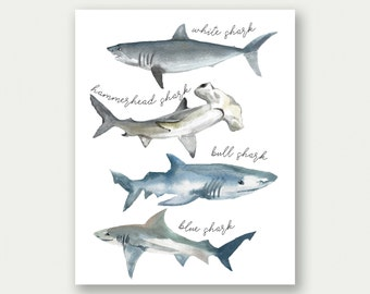 photo about Printable Shark Pictures titled Printable shark Etsy