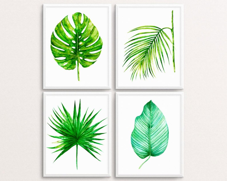 image relating to Palm Leaf Printable named Palm Leaf Print Preset, Palm Leaves Printable, Palm Print, Tropical Artwork, Plant Decor, Inexperienced Decor, Botanical Print, Tropical Wall Artwork, Environmentally friendly