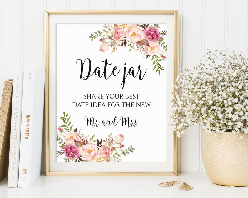 Date Jar Sign Date Night Jar Date Night Sign Date Night image 0