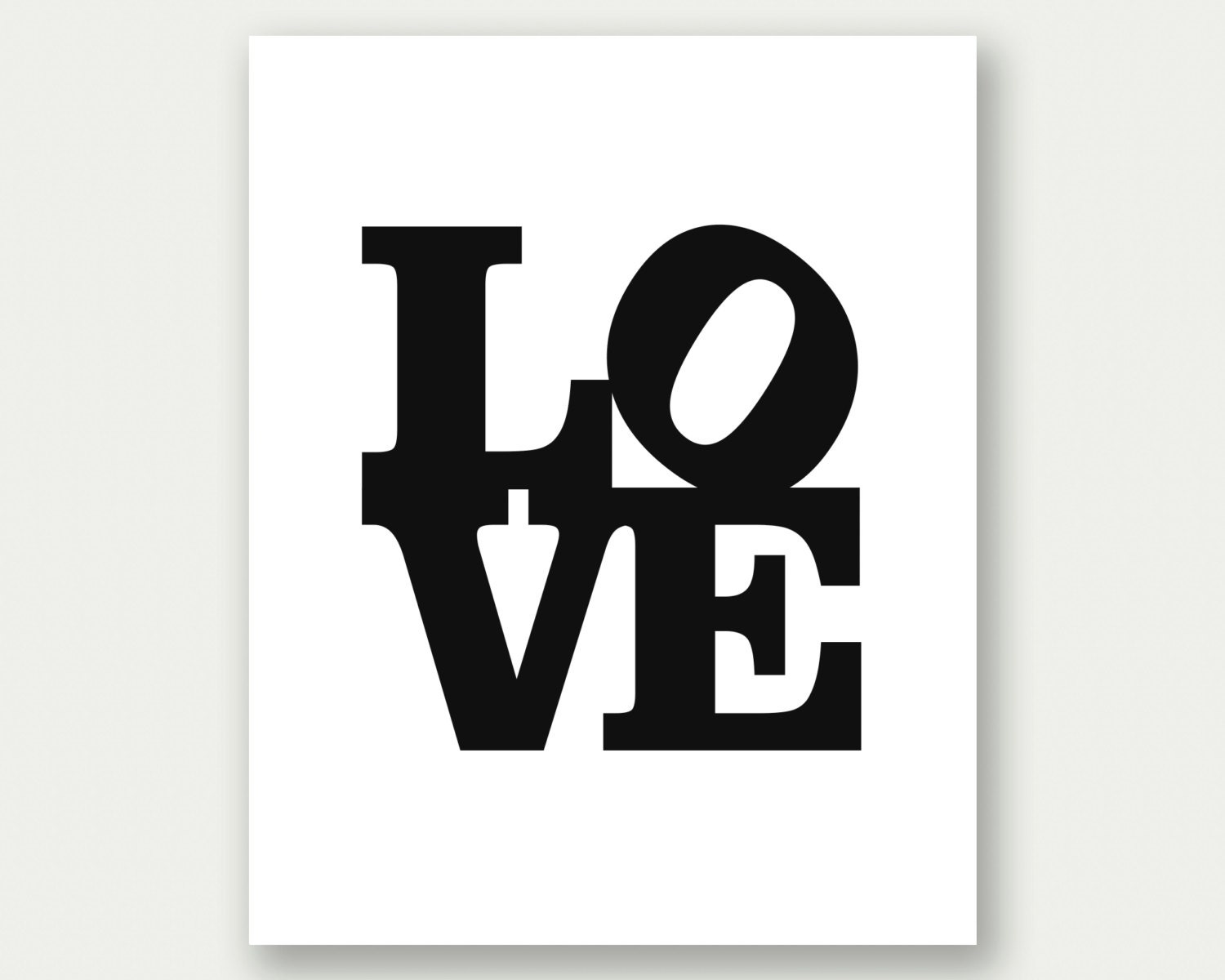 Love sign philadelphia love sign typography poster word etsy for Love sign