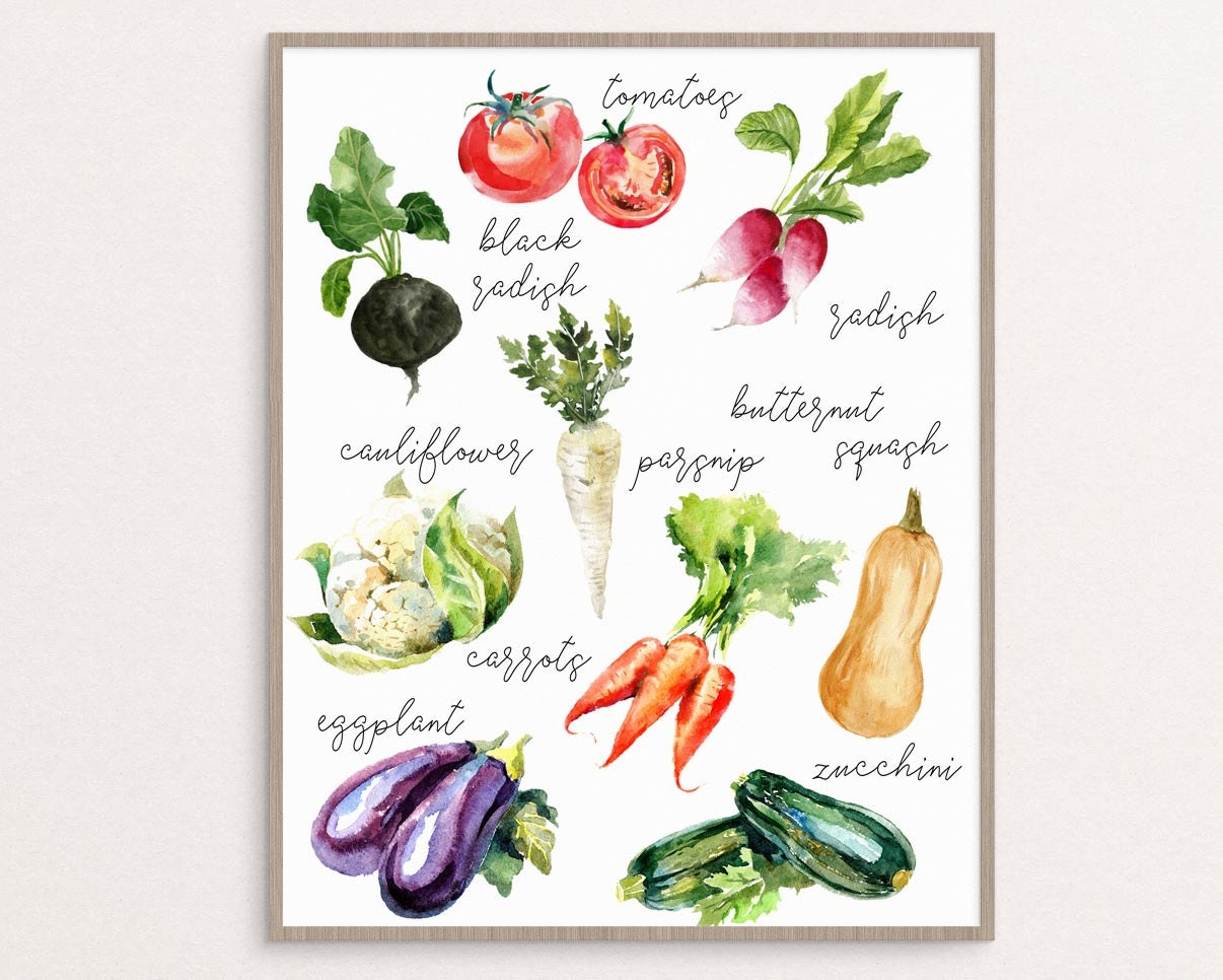 Gorgeous image inside printable vegetables