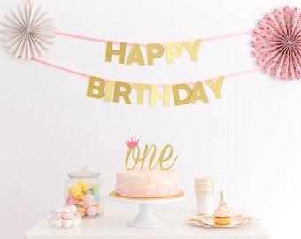 Heart Cake Topper First Birthday Cake Topper Birthday Cake Etsy