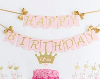 more colors happy birthday wall banner birthday girl