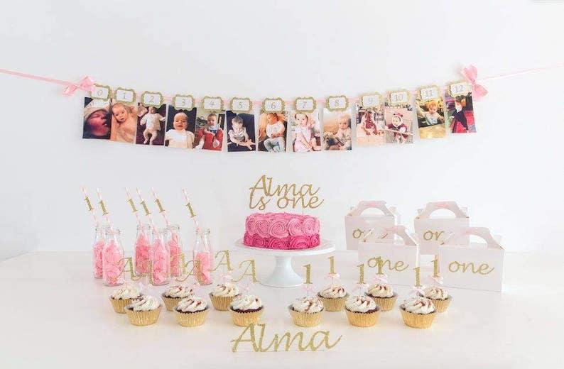 Kit de décoration pour fête d'anniversaire - Créatrice ETSY : InspiredbyAlma