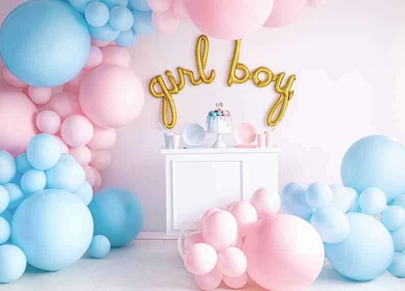 Ballons géant Gender Reveal - Créatrice ETSY : InspiredbyAlma